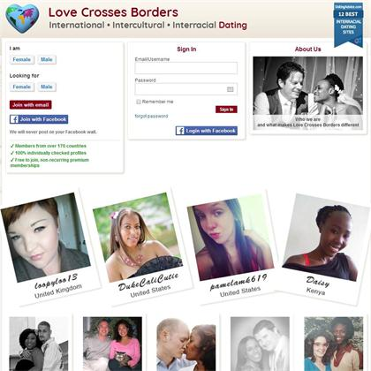 love crosses borders