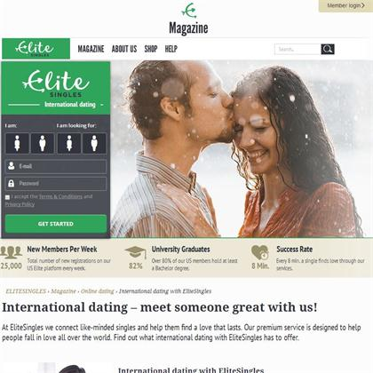 international dating site elite singel