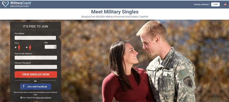 Dating website for military personnel