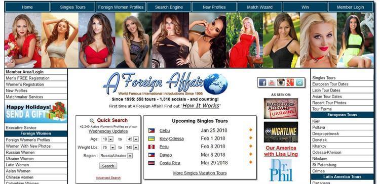 Premium dating site